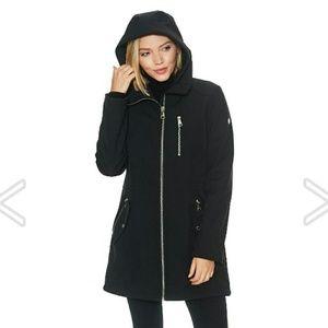 NWOT Black Calvin Klein Softshell Jacket sz 1X